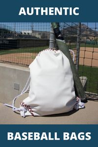 Authentic baseball bags