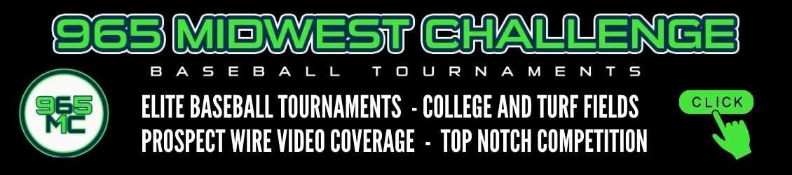 965 Midwest Elite high school and youth baseball tournaments in Northeast Ohio