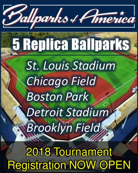 Ballparks of America Youth Baseball Tournaments in Branson MO