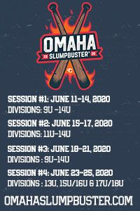 Omaha Slubuster baseball tournaments Nebraska 9u to 18u