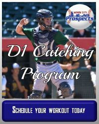 Catching program high school baseball players