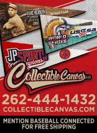 Collectable Canvas baseball awards gifts