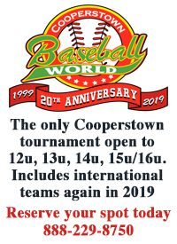 cooperstown NY baseball tournament