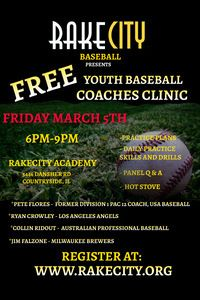 Rake City Baseball Clinic