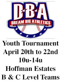 Dream Big Youth Baseball Tournaments