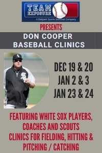 Don Cooper Baseball Clinics December and January