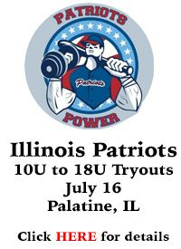 Dream Big Youth Baseball Tryouts Palatine Illinois
