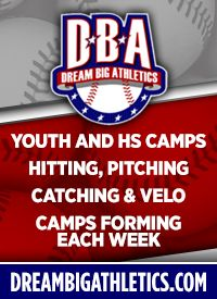 Dream Big Athletics Palatine Baseball Showcase Youth Camps Youth Evaluation Camps
