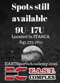 E.A.S.T Elite baseball tryouts 9u to 17u