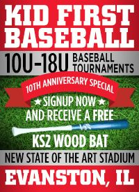Kid First Tournaments Ages 10U to 18U Elmhurst IL