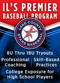 Lake County Stars baseball tryouts 8u to17u