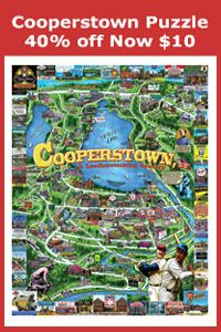 Cooperstown Puzzle sale