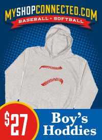 MyShopConnected Boy's Baseball Hoodies and Sweatshirts