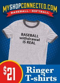 MyShopConnected Men's Baseball Ringer T-shirts