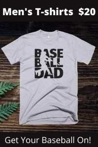 Men's Baseball and Softball t shirts for fans of all ages. t-shirts