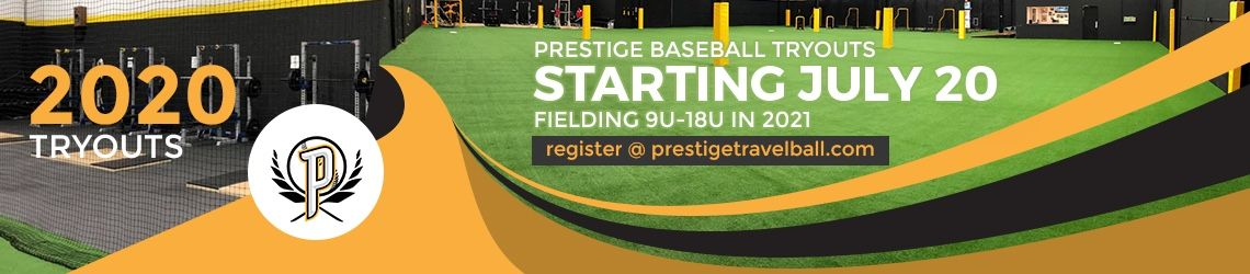 Propsects baseball and prospects exposure are holding tryouts for age groups 8u to 18u starting July 6
