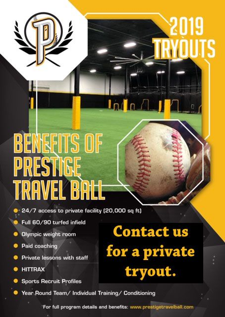 Prospects baseball 2020 tryouts 8u to 14u