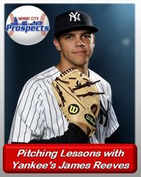 Pitching instructions with james reeves