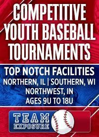 Team Exposure Tournaments youth baseball Bourbonnais Illinois
