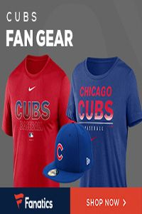 Cubs Fan Gear MLB Baseball Apparel