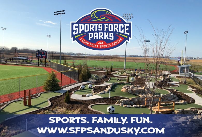 Baseball tournaments and sports park in Sundusky Ohio