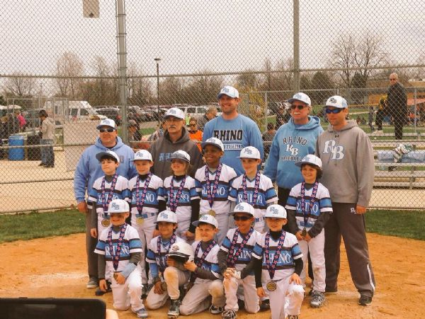 Rhino 8u Elite wins Game Day USA Majestic Prospect Games